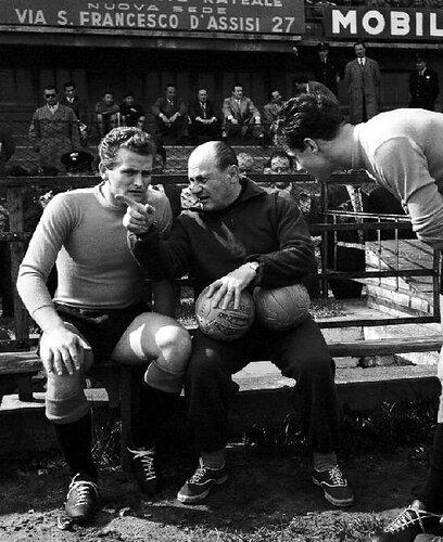 Giampiero_Boniperti,_Lajos_Czeizler_1954