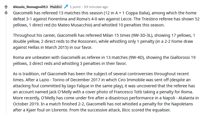 Screenshot_2020-06-27 r ACMilan - Milan - Roma to be refereed by Piero Giacomelli from Trieste Orsato on the VAR